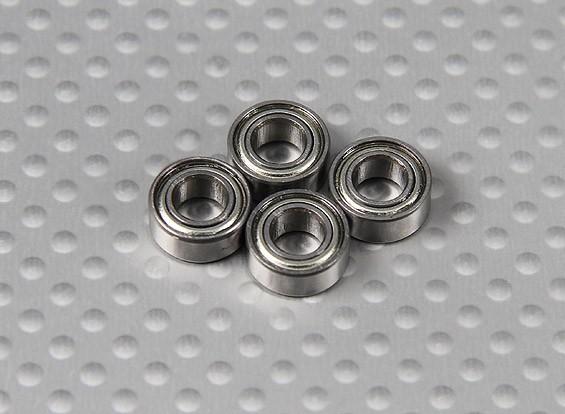 Bearing (10x5x4mm) 1/10 Turnigy 4WD Brushless Truck Curso de curta duração (4pcs / Bag)