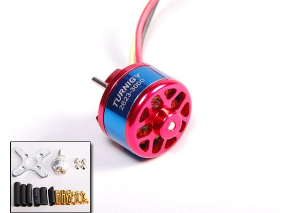 3000kv Turnigy 2623 Brushless