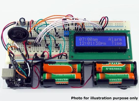 Educational visor LCD Kit Eletrônica Formação