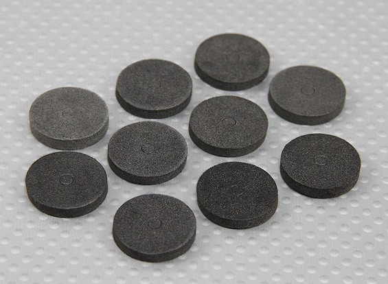 EVA Foam Anilhas Corporal (Black) (10pcs)