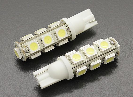 LED milho luz 12V 2.6W (13 LED) - branco (2pcs)