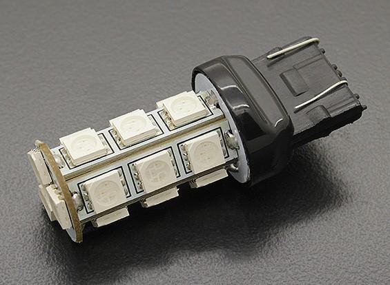 LED milho luz 12V 3.6W (18 LED) - Blue