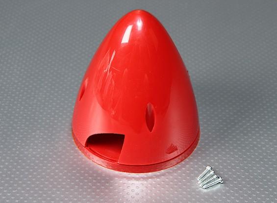 Nylon 95 milímetros Spinner (vermelho)