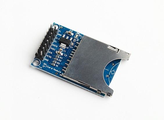 SD Card Reader / Writer para Kingduino e outros microcontroladores