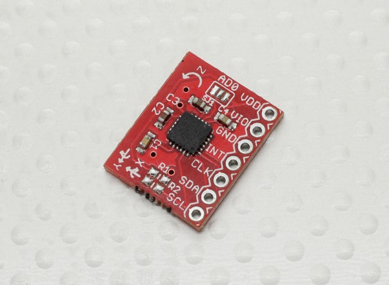 Saída Kingduino Triple-Axis Digital Gyro Sensor ITG-3205 Module