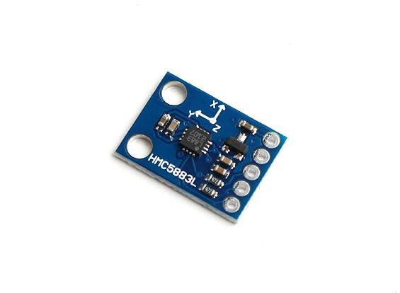 Kingduino HMC5883L Triplo Eixo Compass Magnetometer Sensor Módulo Breakout