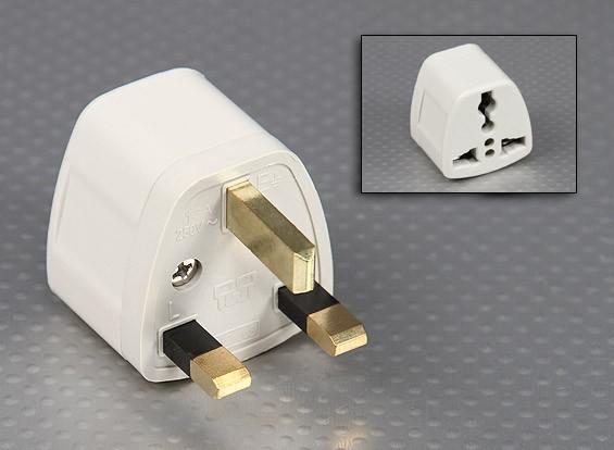 British Standards 1363 Multi-Padrão Sockets Adaptor