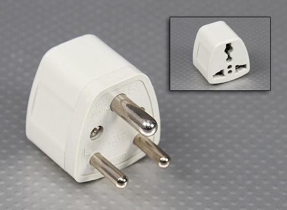 British Standards BS Sockets 546 Multi-padrão Adaptor