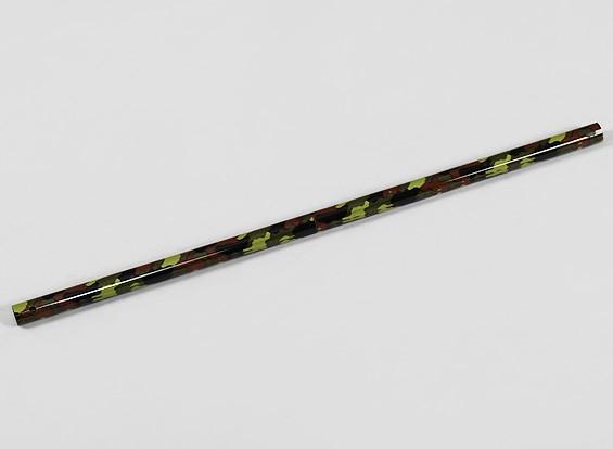 Tail boom de fibra de carbono camuflagem para Trex / HK450 helicóptero