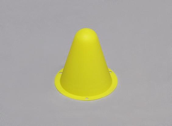 Plastic Corrida de Cones para / Faixa Car R C ou deriva Course - Amarelo (10pcs / saco)
