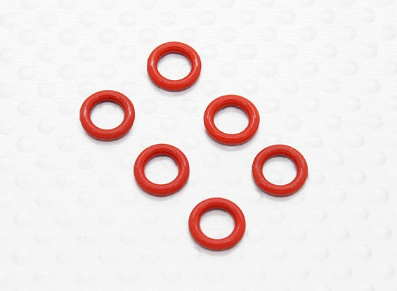 Diff O-ring Seal (6pcs / bag) - 1/10 Quanum Vandal 4WD Corrida Buggy