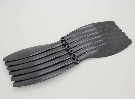 GWS EP Hélice (RD-1180 279x203mm) Black (6pcs / set)