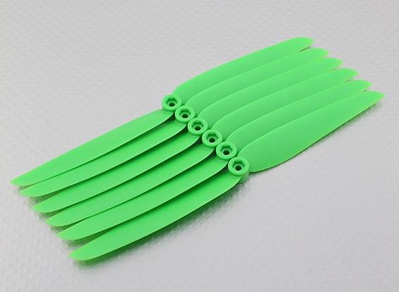 GWS Estilo Hélice 7x3.5 Green (CCW) (6pcs)