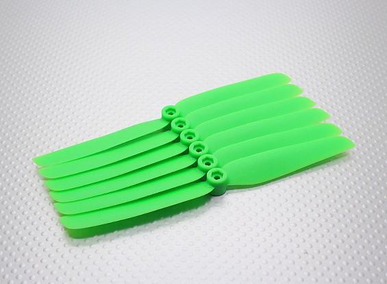 GWS EP Hélice (DD-6030 152x76mm) verde (6pcs / set)