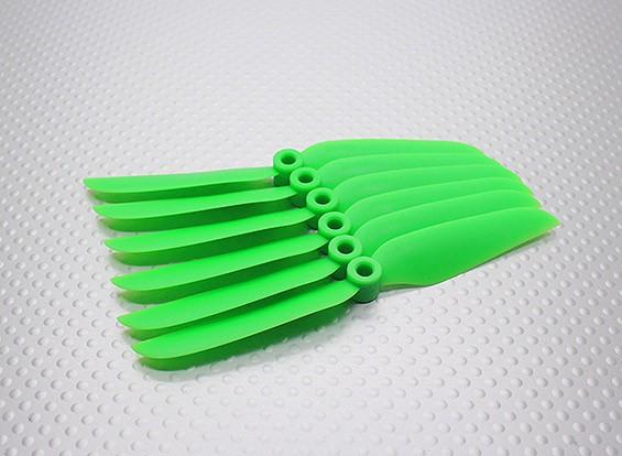 GWS EP Hélice (DD-4540 114x102mm) verde (6pcs / set)