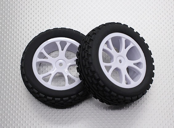 Frente Buggy Tiro Set 2sets (Split 5 raios) - 1/10 Quanum Vandal 4WD Corrida Buggy (2pcs)