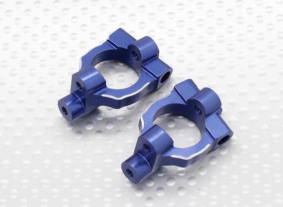 Direcção de alumínio Knuckle Arm (2pcs / bag) - 1/10 Quanum Vandal 4WD Corrida Buggy