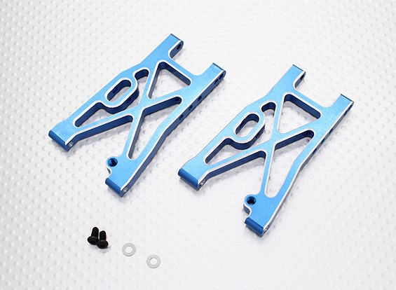 Alunminum Frente Lower Susp. Arm - 1/10 Quanum Vandal 4WD Corrida Buggy (1set)