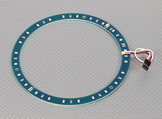 Anel LED 145 milímetros verde w / 10 modos selecionáveis