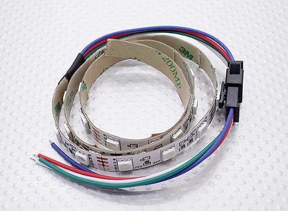 LED vermelho, verde, azul (RGB) Faixa de 50 centímetros w / Chumbo vôo