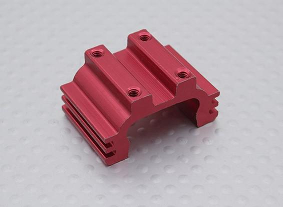 Montagem de motor (vermelho) 1/16 Turnigy 4WD Nitro Corrida Buggy