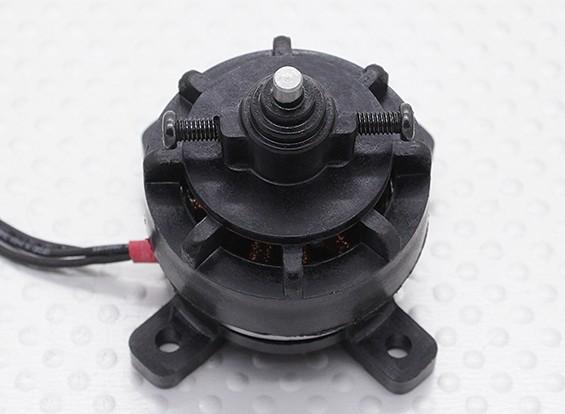 PM22M 28-22 plástico Outrunner Motor 1350kv w / Integral X-Mount mais Prop Saver