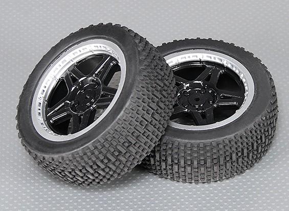 Medida do pneu traseiro Set - A2033 (2pcs)