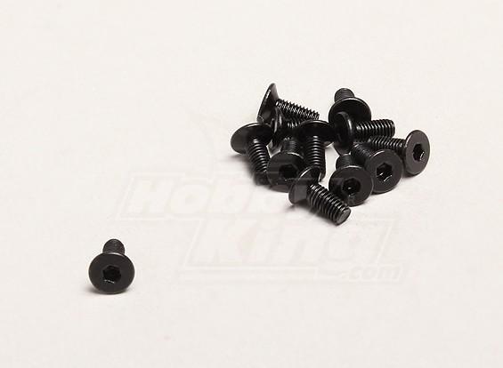 M3x8mm Hex Parafuso (12pcs / bag) - Turnigy Trailblazer XB e XT 1/5