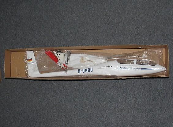 RISCO / DENT DG-1000 Fibra de vidro EP Scale Glider 2,650 milímetros (ARF)