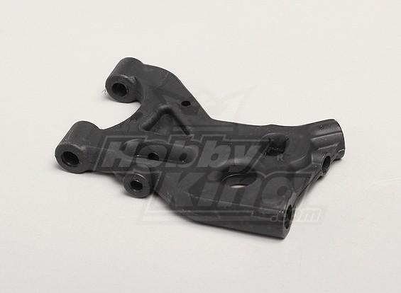 Lower traseira suspensão de braço (esquerdo) - Turnigy Twister 1/5