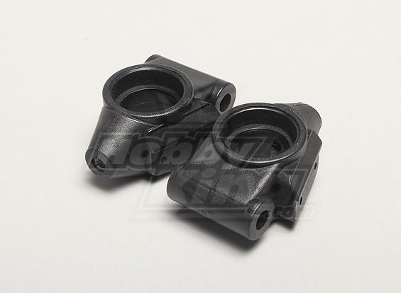 Esquerda e Direita traseira da roda do eixo da luva (1pair) - Turnigy Twister 1/5