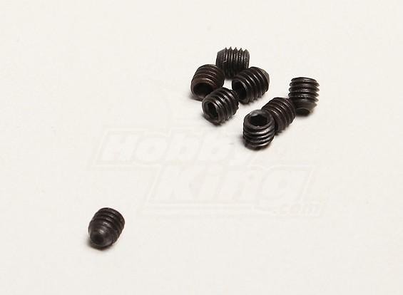 M3x3mm Grub Parafuso (8pcs / saco) - Turnigy Twister 1/5