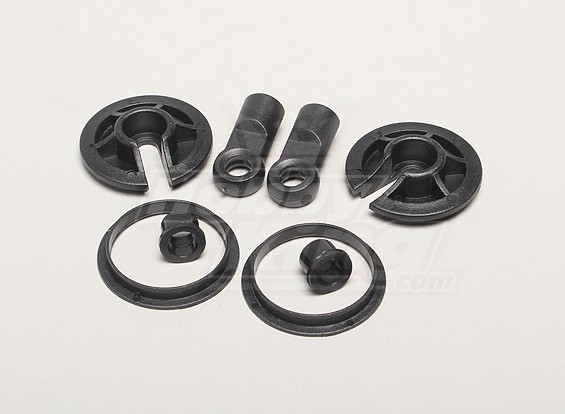 Choque Set Absorber Holder - Turnigy Titan 1/5