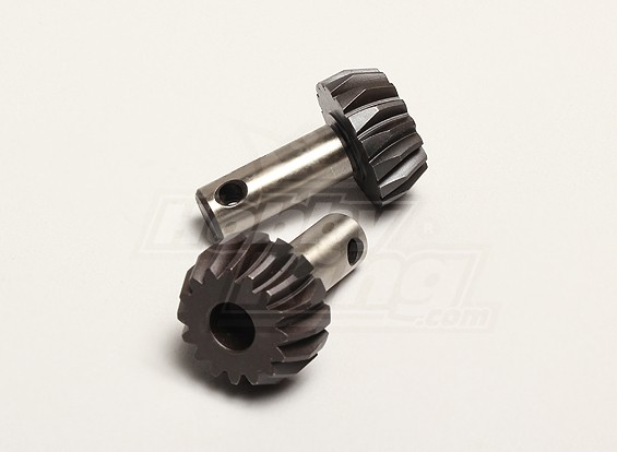 Pinhão Bevel Gear 16T (2pcs / bag) - Turnigy Titan 1/5