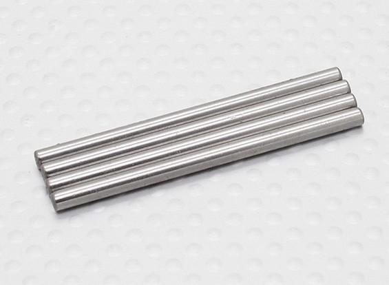 Pinos de rolamento suporte (4pcs) - A2038 e A3015