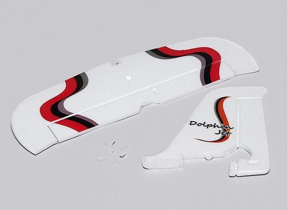 Dolphin Jet EPO 1.010 milímetros - Substituição Vertical e Horizontal Cauda