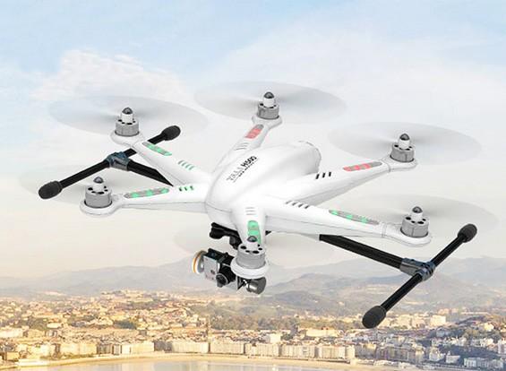 ** BREVE ** Walkera TALI H500 GPS FPV Hexacopter com Devo F12E, iLookplus, G-3D (pronto para voar)