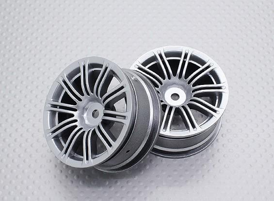 Escala 1:10 de alta qualidade Touring / tração das rodas do carro de RC 12 milímetros Hex (2pc) CR-M3S