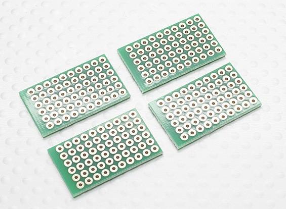 DIY PCB Pão Conselho 27.5x17mm (4pcs / saco)