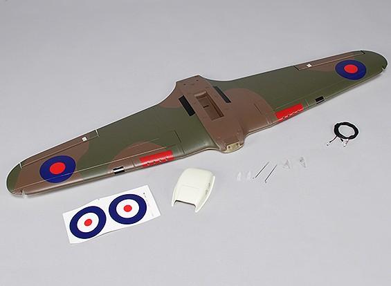 Hawker Hurricane Mk IIB 1.000 milímetros - Substituição Principal Asa