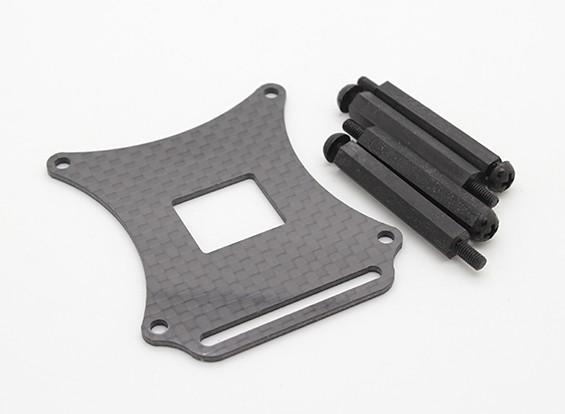 AQ-600 Quadrotor Frame - substituição da placa de controle placa de montagem