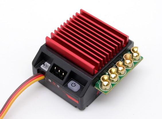 TrackStar GenII 120A 1 / 10th escala Sensored Brushless Car ESC (ROAR / BRCA aprovado)