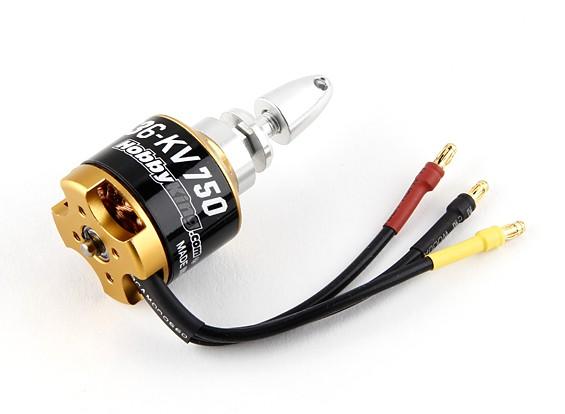 Durafly ™ 1,100 milímetros P47, F4U e Spitfire - Motor 750KV substituição