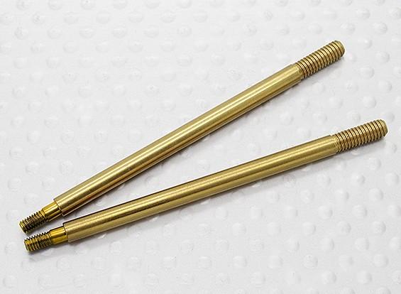 Metal de choques traseiro Shaft - A3015 (2pcs)