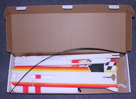 RISCO / DENT Gee Bee EPP Perfil 3D Aerobatic Avião 1.000 milímetros (Kit)