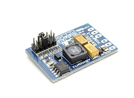Turnigy PSU Regulador um ampères 2.5v, 3.3v, 5v, 9v, 12v Switchable 6-23v Input