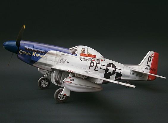 MicroAces P51 Kit D Mustang Cripes A Mighty Micro Avião Depron Padrão