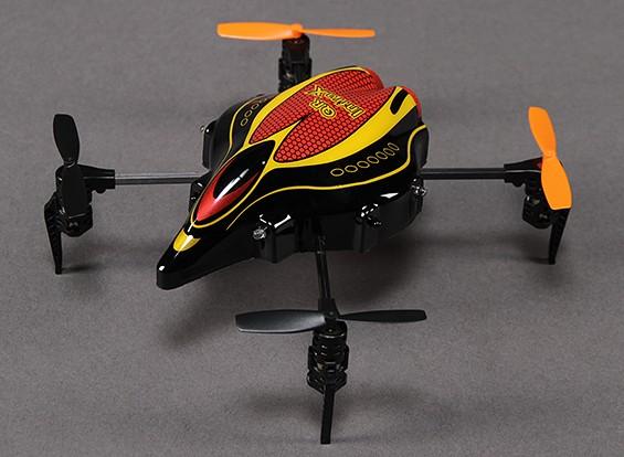 Walkera QR Infra X Micro Quadrotor w / IR e manter a altitude (Bind e Fly)