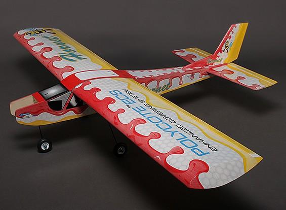 Hornet Balsa Hi-Wing instrutor Brilho / 1.580 milímetros EP (ARF)