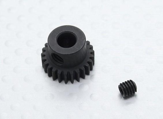 25T / 5 mm 48 Passo Hardened pinhão Aço